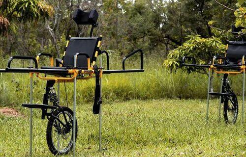 Cadeiras de rodas. Foto: MMA.