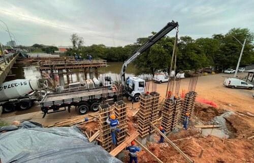 Foto: Divulgação - Dnit executa obras de reforma em ponte