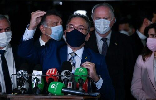Senador Roberto Rocha (PSDB-MA), relator da PEC 110. Foto: Jefferson Rudy/Agência Senado