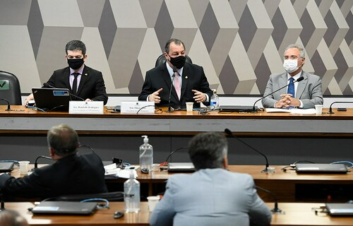 CPI Pandemia - Foto: Agência Senado
