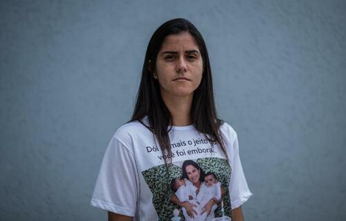 Moradora de Brumadinho (MG), Josiana Resende perdeu a irmã e o cunhado no desastre, que matou mais de 270 pessoas em janeiro de 2019/ foto: arquivo pessoal