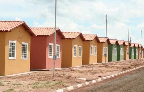 Casas de programa social do governo federal. Foto: EBC