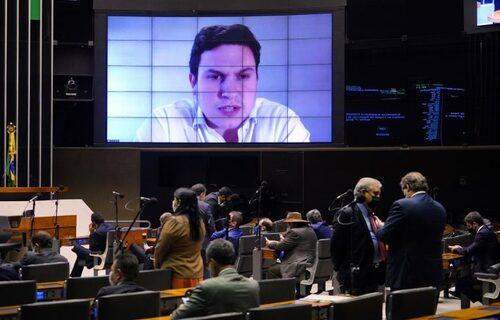 Votação Cârama - Foto: Pablo Valadares/Câmara dos Deputados