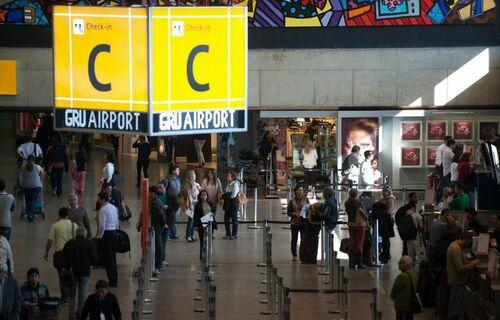 Aeroporto de Guarulhos - Foto: Agência Brasil
