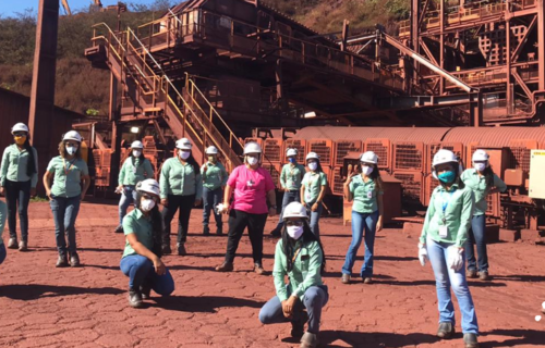 Mulheres na Mineração. Foto: Arquivo/Vale