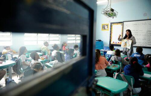 Escola - Foto: Tania Rego/Agência Brasil]