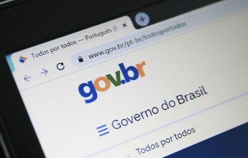 Gov.br. Foto: Agência Brasil.