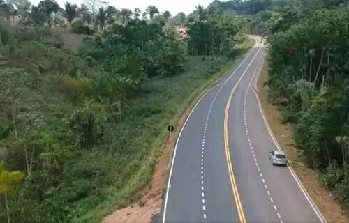 Rodovia Transamasônica. Foto: MInfra.