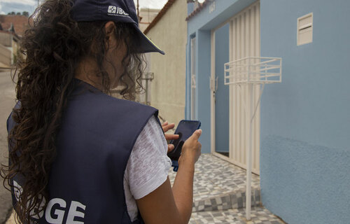 Recenseador - Foto: Simone Mello/Agência IBGE Notícias