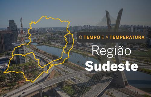 O TEMPO E A TEMPERATURA: Tempo firme predomina no Sudeste ...