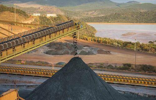 Jazida de minério de ferro. Foto: Ricardo Teles/gov.br