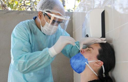 Teste RT-PRC -  Foto: Geovana Albuquerque/Agência Saúde DF