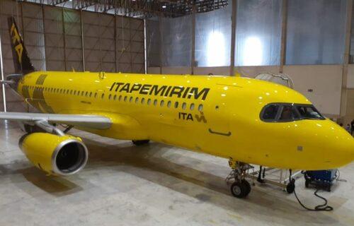 Avião ITA. Foto: Divulgação.