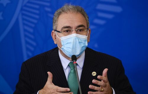 Ministro da Saúde, Marcelo Queiroga. Foto: Marcelo Camargo/Agência Brasil