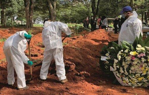 Mortes covid. Foto: Agência Brasil.
