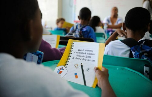 Sala de Aula. Foto: Agência Brasil.