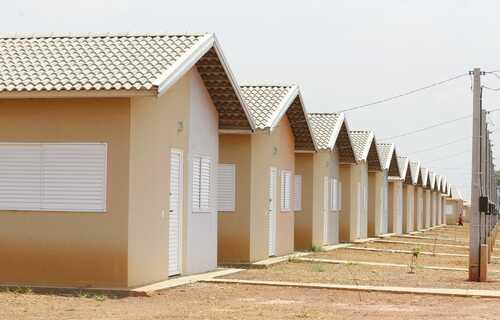 Residencial Jardim Vitória II conta com casas de dois quartos e infraestrutura completa de água, esgoto, energia elétrica, pavimentação, iluminação pública e drenagem. Foto: MDR
