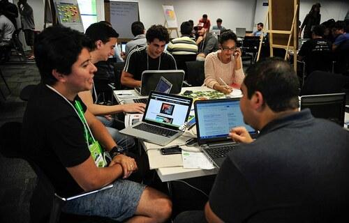 Jovens empreendedores. Foto: Agência Senado.