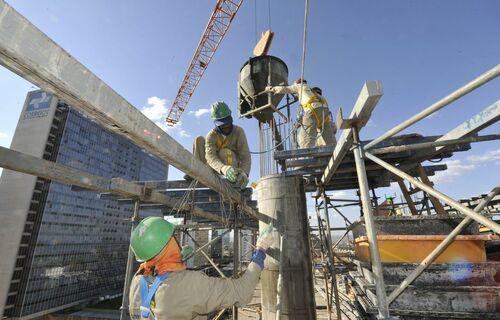 Construção Civil. Foto: Agência Brasil.
