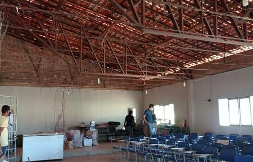 Centro Cultural - Foto: Prefeitura Municipal de Alvorada do Gurgueia