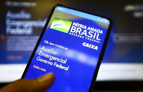 Auxílio emergencial. Foto: Agência Brasil.