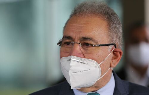 Ministro da Saúde, Marcelo Queiroga. Foto: Agência Brasil.