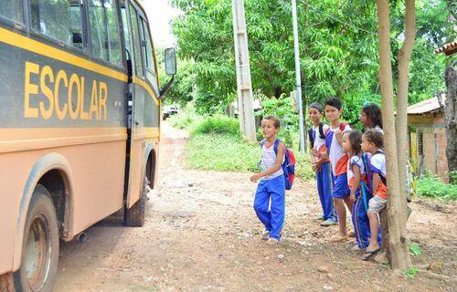 Transporte escolar - Foto: Edmara Silva/Prefeitura de Imperatriz-MS