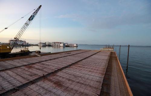 Porto de Santarém - Foto: Companhia de Portos e Hidrovias do Estado do Pará