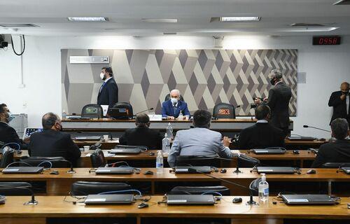 CPI da Covid. Foto: Agência Senado.