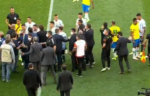 Jogo Brasil e Argentina. Foto: Reprodução