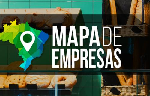 Mapa de Empresas - Arte: Serpro