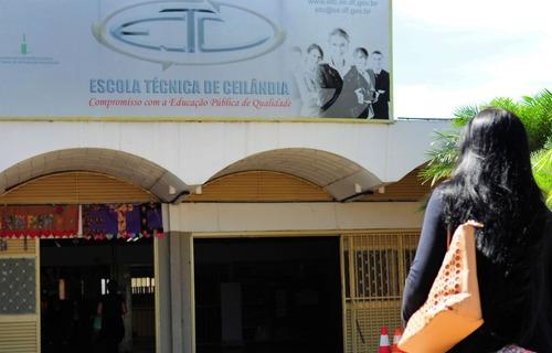 Escola Técnica Ceilândia - Foto: Lúcio Bernardo Jr./Agência Brasília