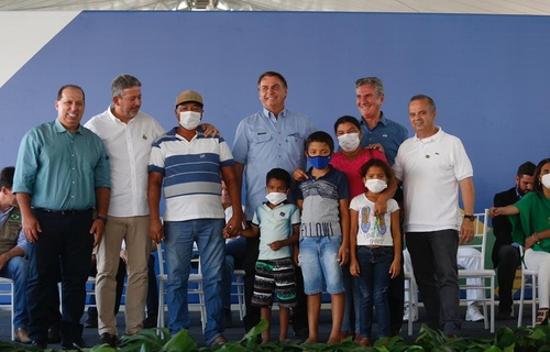 Cerca de R$ 13,6 milhões foram investidos pelo Governo Federal nos módulos I e II do Residencial Dr. Marcelo Vilela. Foto: Dênio Simões/MDR