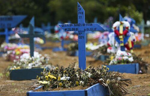 Cemitério. Foto: Agência Brasil.
