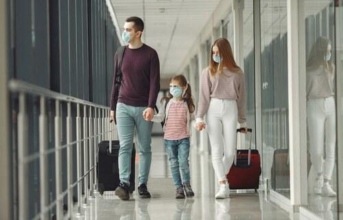 Família viajando. Foto: Banco de Imagens do Governo Federal.