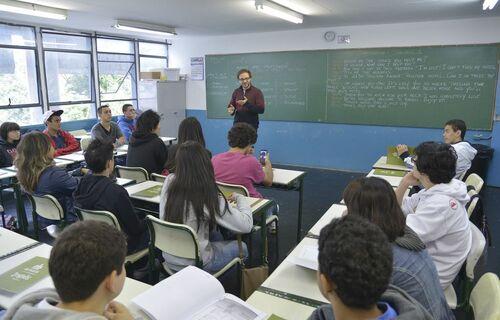 Sala de aula - Foto: Wilson Dias/Agência Brasil