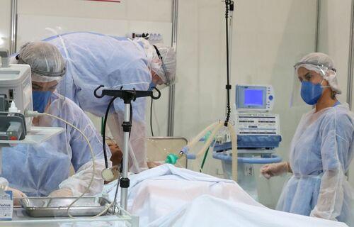 Hospital de campanha Covid-19. Foto: Agência Brasil