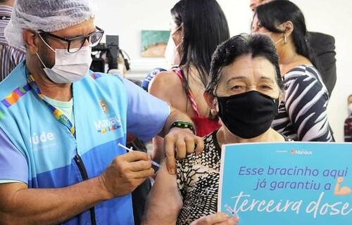 Foto: Divulgação/Secretaria Municipal de Saúde de Manaus.