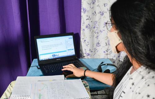 Aula Online - Foto: Secretaria de Educação do Mato Grosso