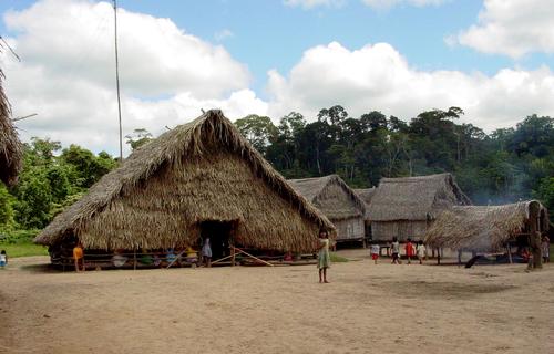 Aldeia caxinaua, no Acre. Foto: Arquivo/EBC
