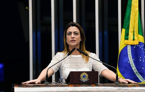 Foto: Roque de Sá/Agência Senado - Senadora Soraya Thronicke, relatora da PEC 13/2021
