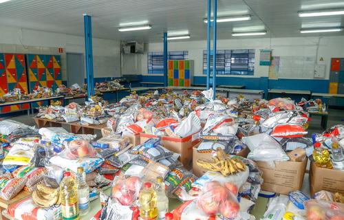 Kits alimentação - Foto:  Gilson Abreu/AEN/PR