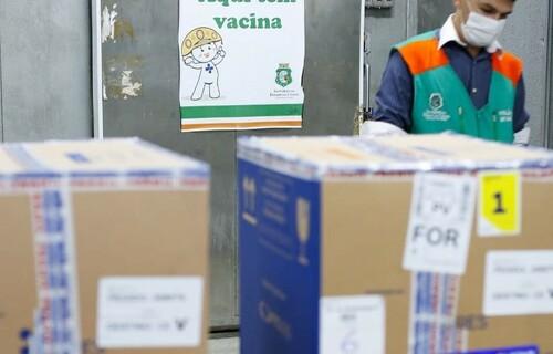 Vacina - Foto: Tatiana Fortes/Governo do Ceará