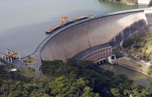 Usina Hidrelétrica de Funil, que atende o Rio de Janeiro. Foto: José Lins/Flirck Eletrobás Furnas