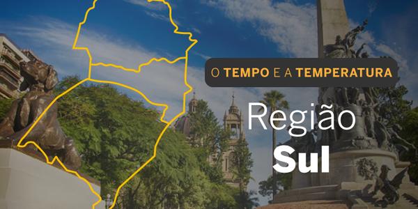 O TEMPO E A TEMPERATURA: sensação de calor pelo Sul do Brasil nesta segunda-feira (27)