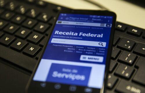 App Receita Federal. Foto: Agência Brasil.
