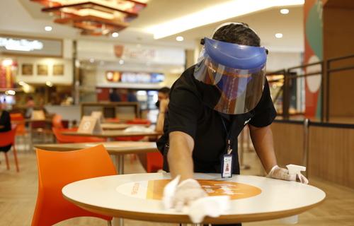 Restaurante Pandemia - Foto: Secretaria de Saúde do Ceará
