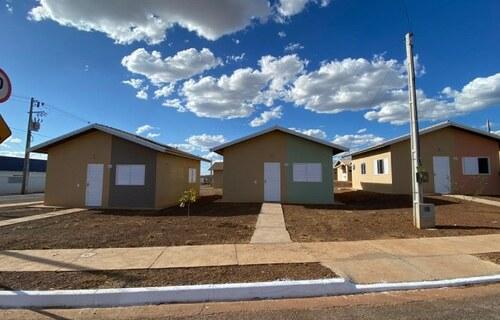 Em Palmas, 500 casas foram entregues aos novos moradores do Residencial Jardim Vitória II. Foto: Governo Federal