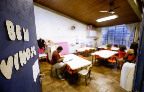 Volta às aulas - Foto: Prefeitura de Porto Alegre
