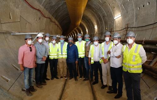 A obra da Linha Leste do metrô de Fortaleza vai contar com investimento federal de R$ 660,8 milhões para a sua construção, sendo que R$ 115,8 milhões já foram desembolsados (Fotos: Dênio Simões/MDR)